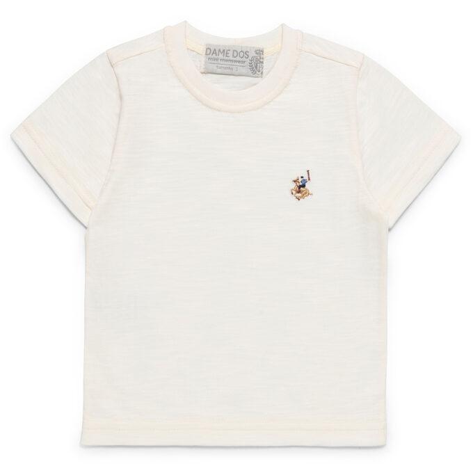Camiseta Lisa Dame Dos Branca - Frente